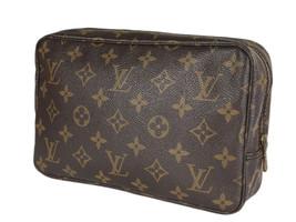 LOUIS VUITTON TROUSSE TOILETTE 23 Monogram Canvas Cosmetic Pouch Bag LP4116 - $269.00