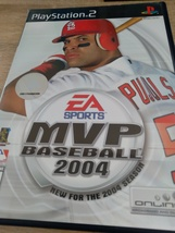 Sony PS2 MVP Baseball 2004 image 1
