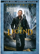 I Am Legend DVD 2 Disc Set 2008 Special Edition Will Smith Charlie Tahan - $8.00