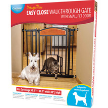 Carlson Pet Design Paw Auto Close Gate  891618030301 - $133.29