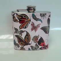 6 oz Many Butterflies Hip Flask - $12.47