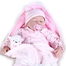 Pompon Cute Doll Toys Lifelike Reborn Baby Doll 22inch Newborn Doll Kids... - $58.41