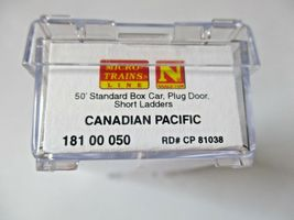 Micro-Trains # 18100050 Canadian Pacific 50' Standard Box Car, N-Scale image 5