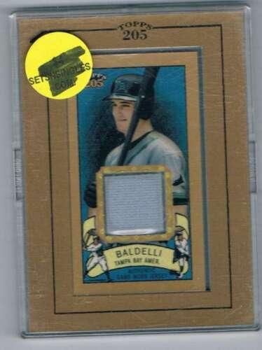 2003 Topps 205 Relics #RBJ Rocco Baldelli Jersey NM-MT MEM