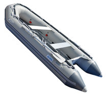 BRIS 1.2mm PVC 14.1ft Inflatable Boat Rescue Raft Power Boat With Free Bimini  image 8