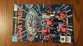 STAR TREK 1 DC COMICS - 1984 - GEORGE PEREZ AUTOGRAPH ON COVER!! - $17.30