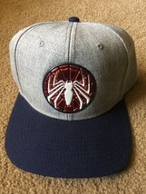 SPIDERMAN Gamerverse Embroidered Logo Strapback Hat Bioworld OSFM NEW w/... - $22.53