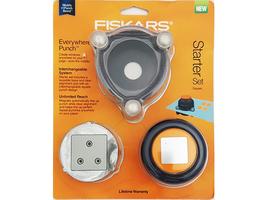 Fiskars Everywhere Punch Starter Set, Square #01-005563