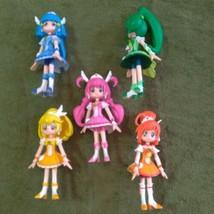 Smile Pretty Cure Precure Figure Doll 5 Body set Used - $138.99