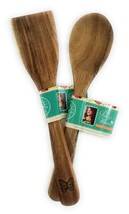 THE PIONEER WOMAN Wooden Spoon and Spatula Turner Ree Drummond ACACIA WOOD - $21.70 CAD