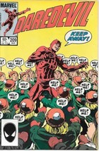 Daredevil Comic Book #209 Marvel Comics 1984 New Unread Very Fine - $2.99