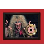 TWISTED SISTER POSTER ART WOOD FRAMED  45 DISPLAY C3 - £137.87 GBP