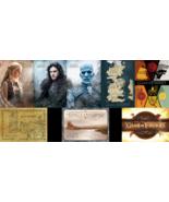 Game Of Thrones Postcard Official Licensed Map Jon Show Daenarys Kings L... - $3.20
