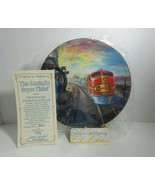 Golden Age American Railroads Plate The Santa Fe Super Chief Authentic - $21.51