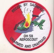 Us Army OH-58 Kiowa Vietnam Era Scout PATCH- Velco New!!! @ - $11.87