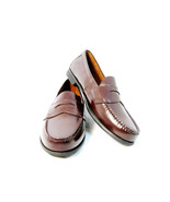 Eastland Men's Shoes Brown Leather Penny Loafer Slip On Size 12M - $24.74