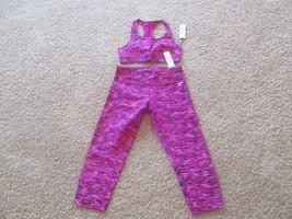 BNWT Calvin Klein Performance sport bra (S)/cropped legging (M) set, Women, $85 - $54.45