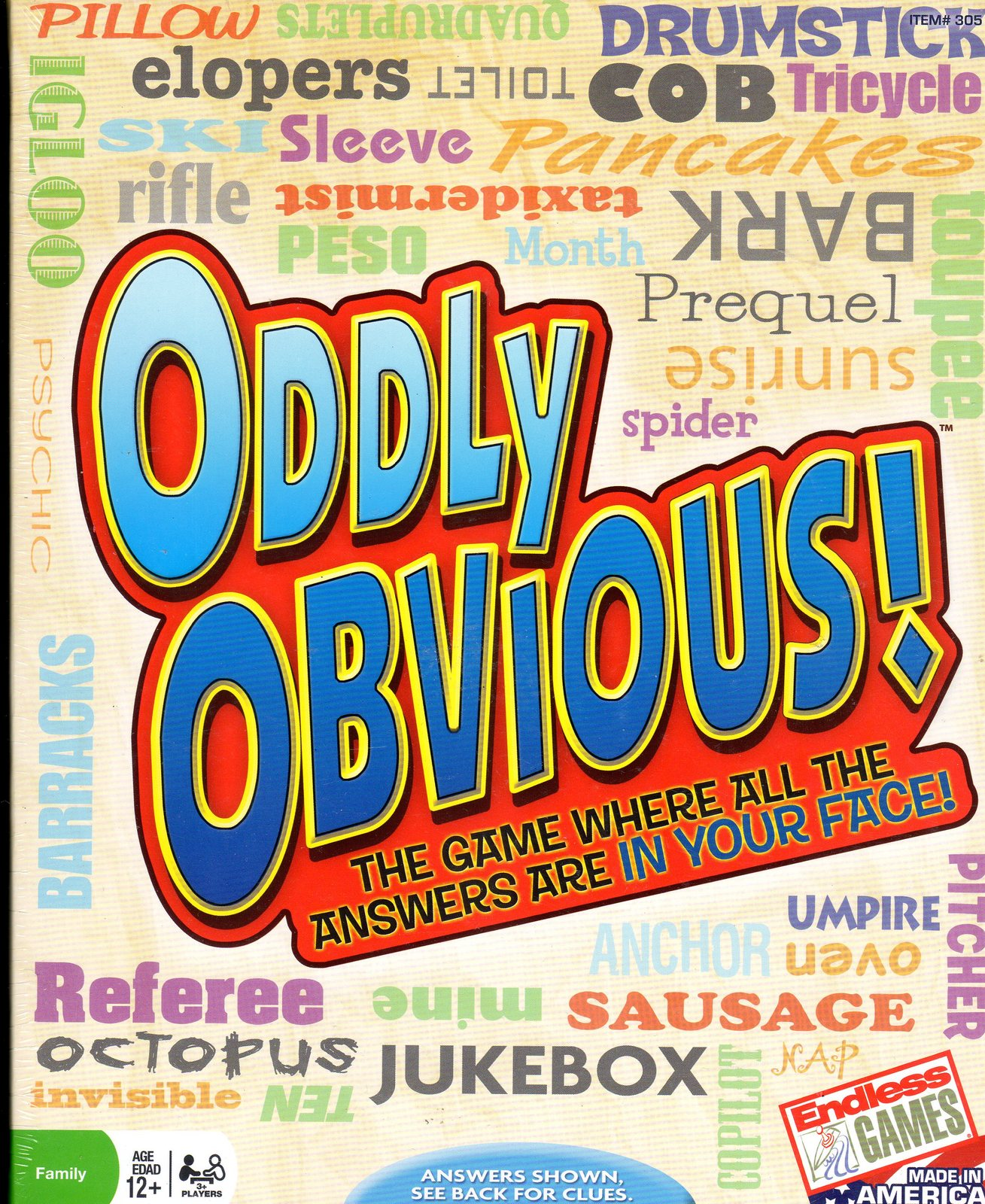 ODDLY OBVIOUS! THE PARTY GAME