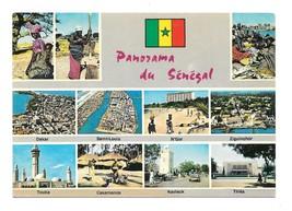 Africa Panorama Au Senegal Multiview 11 Views Vintage 4X6 Postccard - $5.70