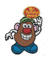 Mr. Potato Head Waving Figure Under name Logo Embroidered Patch NEW UNUSED - $9.74