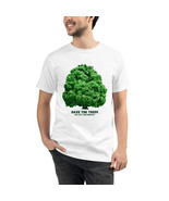 Unisex Organic T-Shirt Eco Friendly Men and Women Sustainable Save Trees - $32.00+