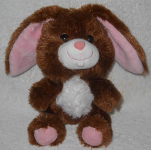 "Plush Smallfry Brown Rabbit Build A Bear Stuffed 2010 7"" One Tooth - $24.09"
