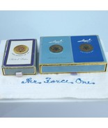 Air Force One Pilot Owned Richard Nixon Cards and Napkin Spirit of 76 - $182.33