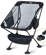 iClimb Ultralight Compact Camping Folding Beach Chair with Large Feet - $61.00