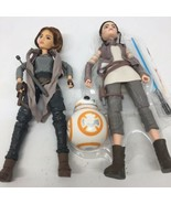 Star Wars Forces Of Destiny Dolls Jyn Erso, Rey And BB-8 - $23.35
