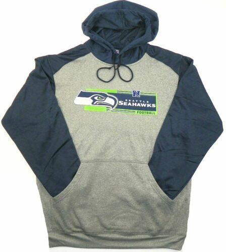 4XL Seattle Seahawks Hoodie NFL Men's Pullover Hooded Gridiron Sweatshirt NEW
