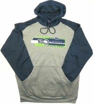 4XL Seattle Seahawks Hoodie NFL Men's Pullover Hooded Gridiron Sweatshirt NEW