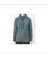 Kirkland Signature Ladies' Jacquard Pullover, Green, Size L - $11.00