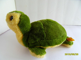 Steiff turtle tortoise with  button flag stuffed animal  Germany 2729 - $43.27