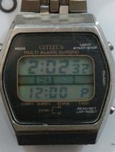 Vintage 70's Multi Alarm Chrono Citizen Digital Watch  - $34.65