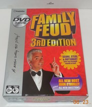 2007 Imagination Family Feud 3rd Edition DVD Board Game Family - $7.25