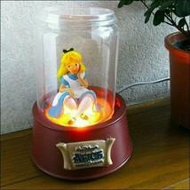 Disney Alice in Wonderland ALICE Room lamp LED light Seto craft illumina... - $195.03