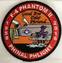 USAF F-4 Phantom II Phinal Phlight Commemorative Sticker - $11.87