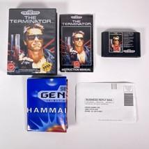 Terminator Sega Genesis 1991 Complete CIB W/ Original Muhammad Ali Poster - $116.69