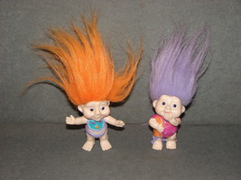 "Lot of 2 Magic Trolls 3"" PVC Figures Applause - $10.00"