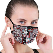 Women's Floral Reusable Face Cover Cloth Protection Mask Handmade USA Lot of 6 image 9