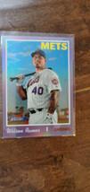 2019 Topps Heritage High Hot Box Chrome Purple Refractor Wilson Ramos Mets # 558 - $7.99
