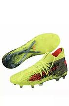 Puma Future 18.1 Netfit FG New Mens SZ 13 Soccer Cleats Fizzy Yellow 10448801NEW - $53.44