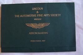 austin martin owners sales brochure pebble beach automotive fine arts so... - $84.99