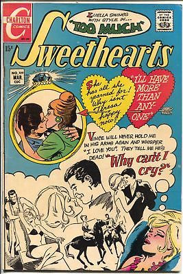 Primary image for Sweethearts #109 1970-Charlton-diamond ring cover-VG/FN