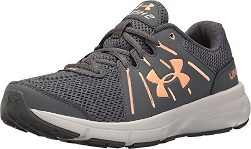 Under Armour Women's UA Dash RN 2 Rhino Gray/Glacier Gray/Playful Peach Athletic