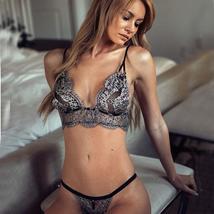 Women Strap Translucent Women Lace Briefs Underwear - $8.99