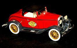 ERTL 1930 Ford Model A Convertible Roadster Bank AA19-1629 Vintage #208 image 3