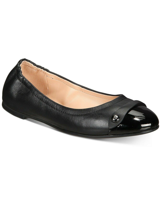 COACH Women's Brandi Ballet Flats Shoes Black Size 7.5 - $123.75