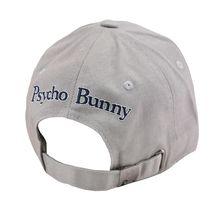 Psycho Bunny Men's Cotton Embroidered Logo Dovedale Baseball Cap Strapback Hat image 4