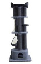 """LONDON 75"""" TALL CAT TREE -DARK GRAY-*FREE SHIPPING IN THE UNITED STATES* - $299.95"""